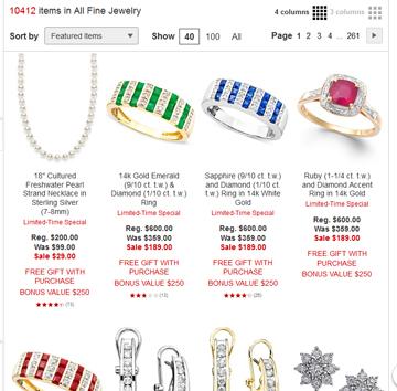 Macy's Fine Jewelry Page