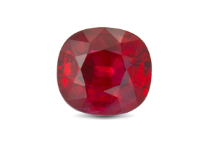 Example of a finished ruby | Photo from GIA